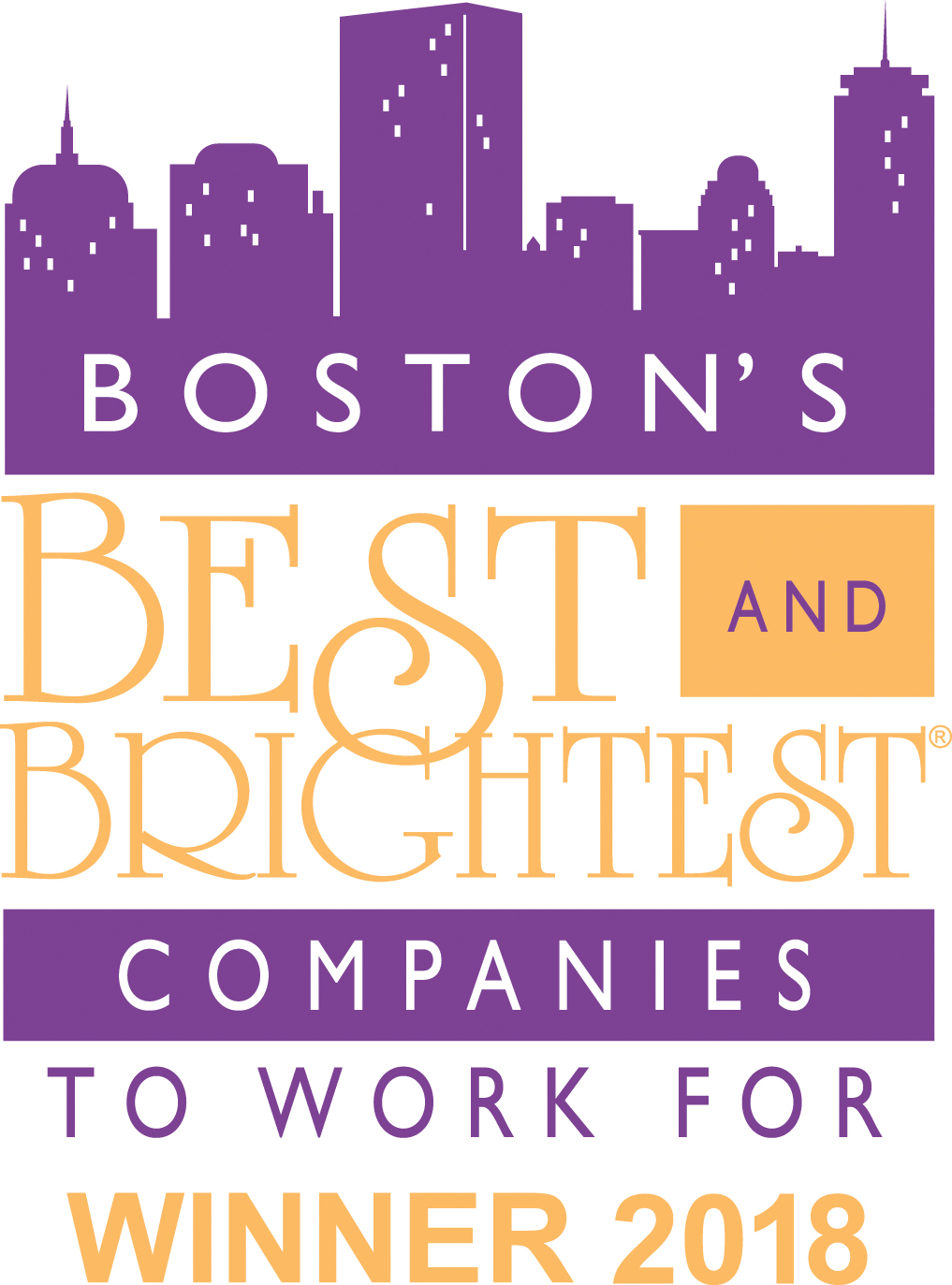 "Boston's ""Best & Brightest Companies to Work For®"""