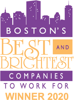 BOSTON'S 2020 BEST AND BRIGHTEST COMPANIES TO WORK FOR®
