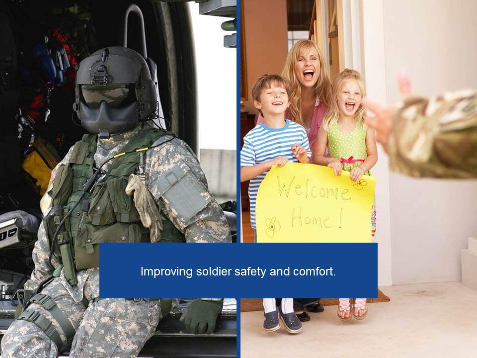 Improving soldier safety and comfort | UFP Technologies
