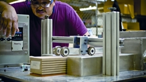 Foam fabrication for aerospace by UFP Technologies