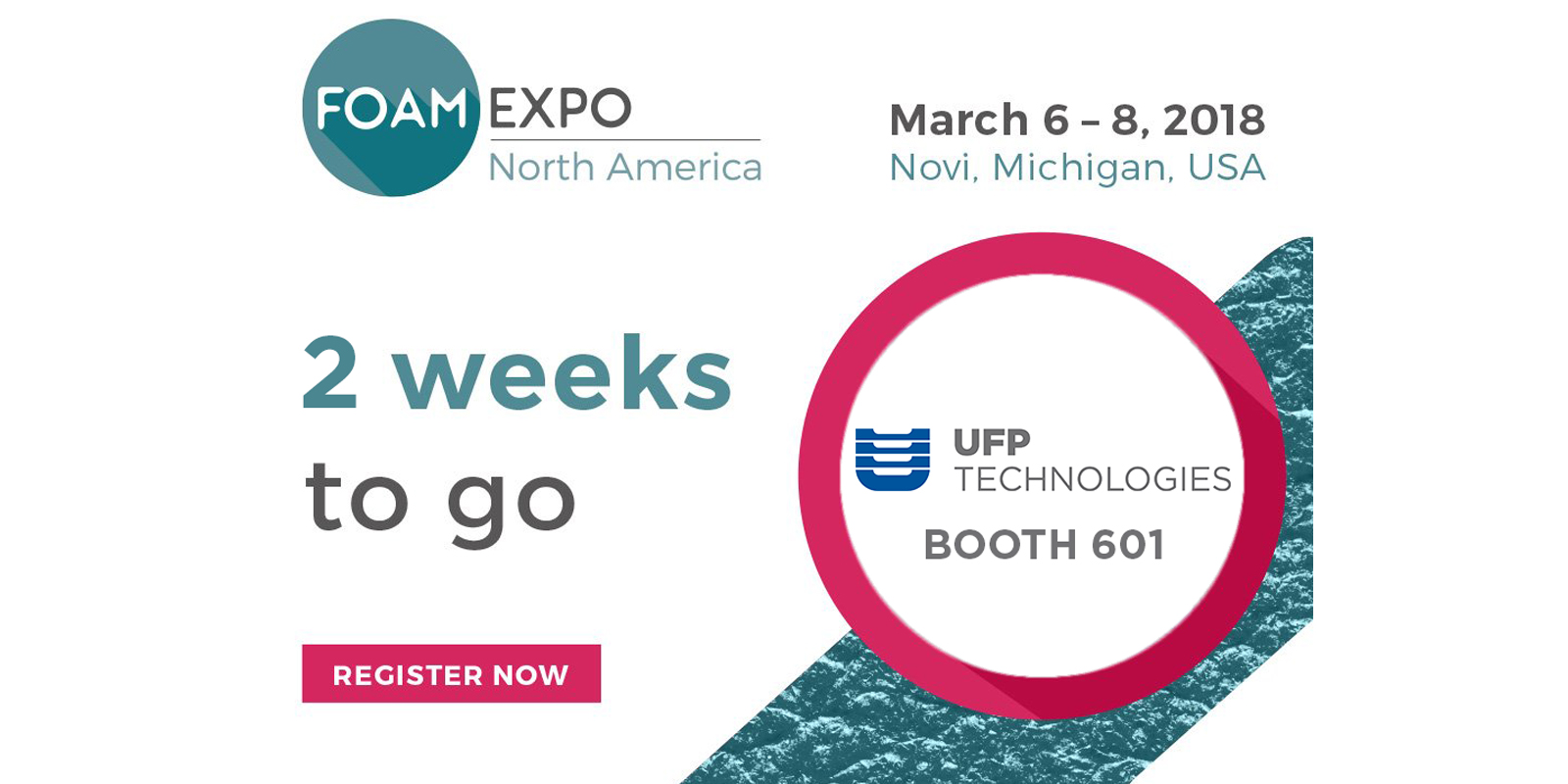 UFP Technologies Exhibiting At Foam Expo 2018