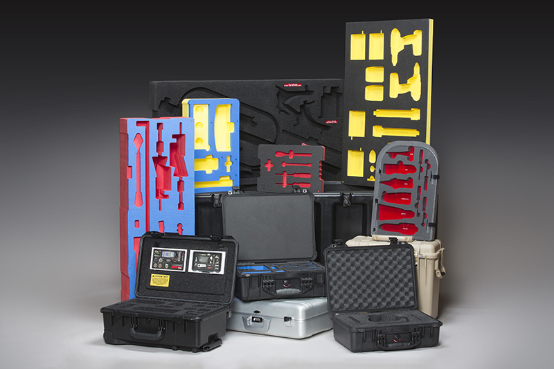 Variety of protective cases and foam insert solutions
