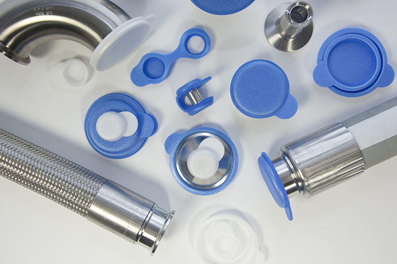 Assortment of Tri-Covers sanitary end caps