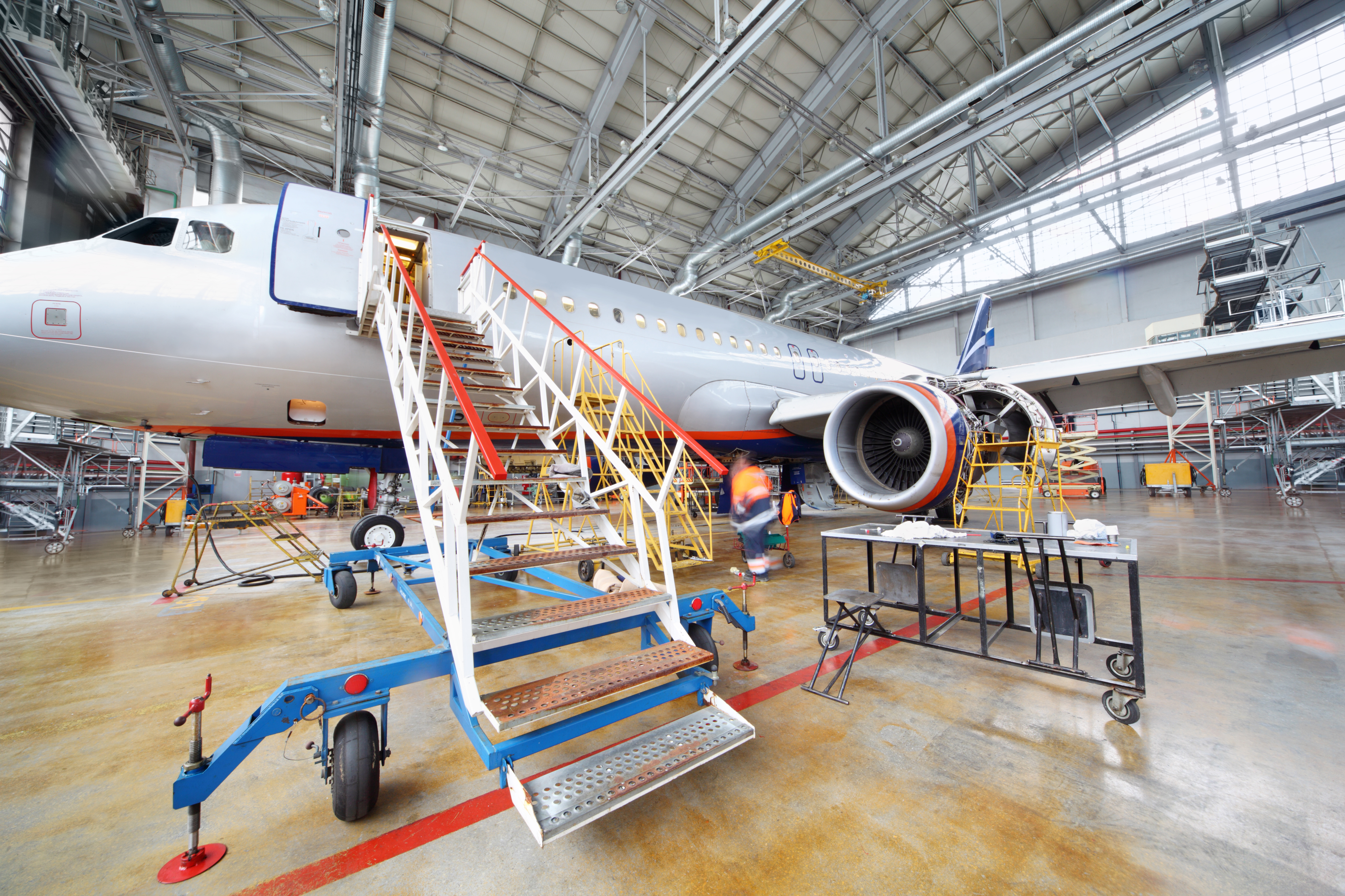Aerospace Production and Maintenance Support by UFP Technologies