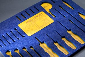 Foam Fabrication - Laser Etching for Tool Control
