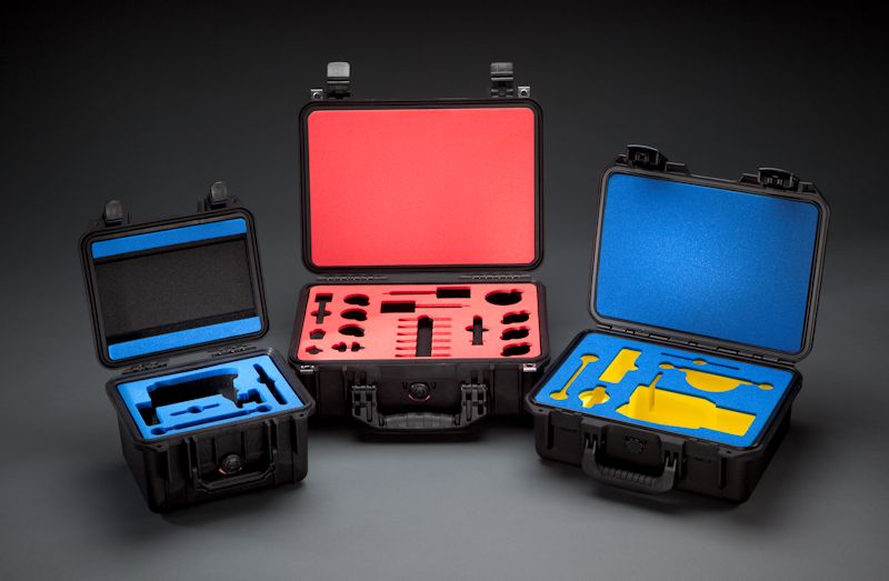 protective cases, custom foam inserts