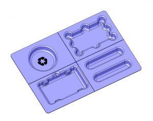 Molded Fiber Envelope Mailer Tray UFP Technologies